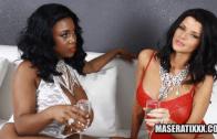 MASERATI XXX & JOSELYN JAMES – BIG BOOTY THREESOME