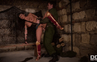 ANISSA KATE – HORNY WONDER WOMAN SALACIOUS BABE IN COSTUME FUCKED UP HER ASS