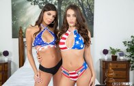 WILD ON CAM – LANA RHOADES & OLIVIA LUA – LET'S GET THIS PARTY