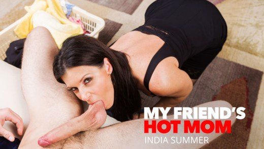 My Friend's Hot Mom – India Summer Shows Her Son's Friend How To Fuck A MILF