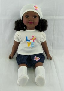 In a time when some African American girls and women, are still struggling with being accepted because of their skin tone, a new Positively Perfect Dolls reinforce the notion that Black is beautiful.