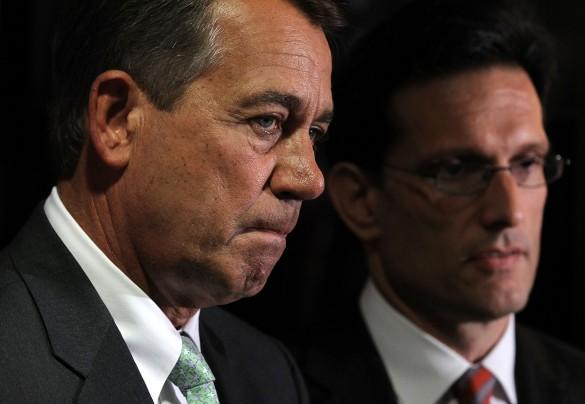 Rep. John Boehner and Rep. Eric Cantor