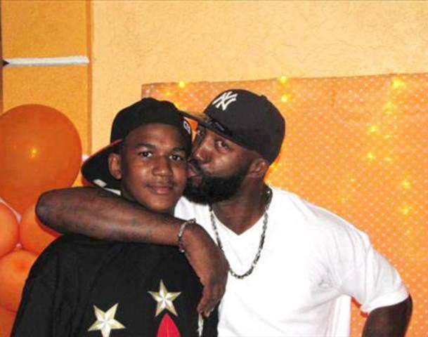 Tracy and Trayvon Martin