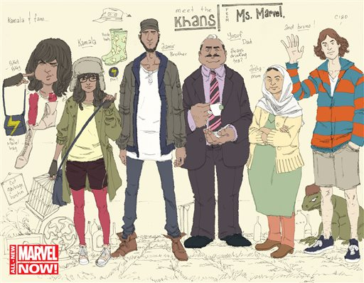 Muslim Ms Marvel