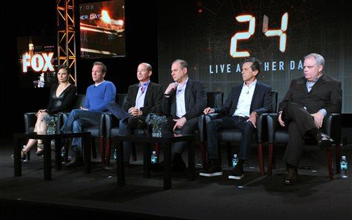 Mary Lynn Rajskub, Kiefer Sutherland, Howard Gordon, Evan Katz, Brian Grazer, Manny Coto