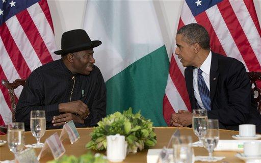 Barack Obama, Goodluck Jonathan