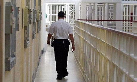a prison guard