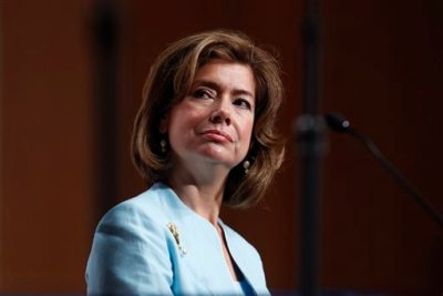 Maria Contreras-Sweet, the head of the Small Business Administration (AP Photo/Charles Dharapak, File)