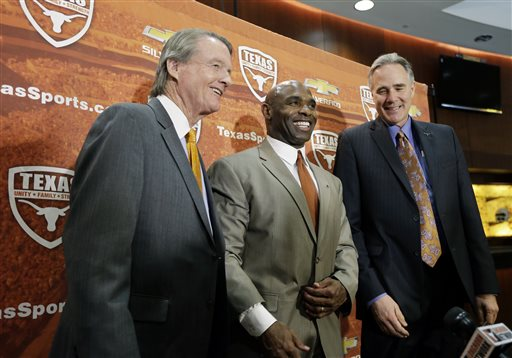 Charlie Strong, Bill Powers, Steve Patterson