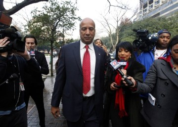 Former New Orleans Mayor Ray Nagin arrives at the Hale Boggs Federal Building in New Orleans on Monday, Jan. 27, 2014. (Jonathan Bachman/AP)