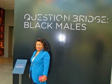 California African American Museum exhibits Question Bridge