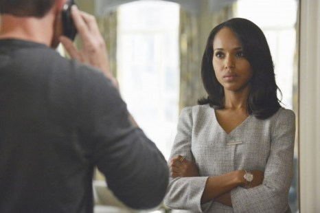 "Kerry Washington as Olivia Pope in a scene from ""Scandal."" (AP Photo/ABC, Eric McCandless)"