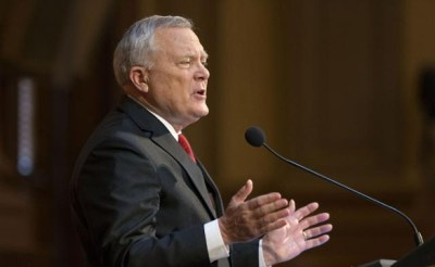 Georgia Gov. Nathan Deal delivers his State of the State address at the Capitol. (David Goldman/AP)