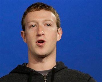In this Thursday, March 20, 2013 file photo, Facebook CEO Mark Zuckerberg speaks at Facebook headquarters in Menlo Park, Calif. Zuckerberg reaped a $3.3 billion gain last year by exercising stock options in the social networking company that he founded in a Harvard University dorm room. (AP Photo/Jeff Chiu, File)
