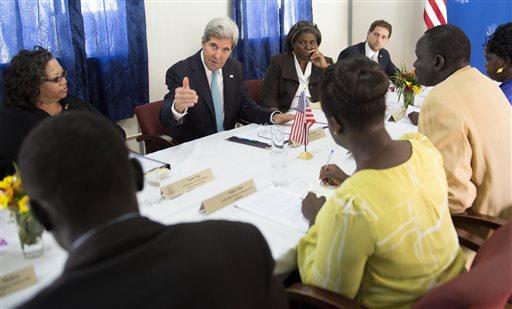 South Sudan Kerry