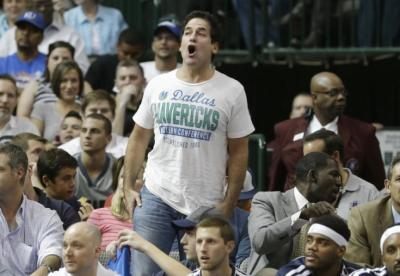 Dallas Mavericks owner Mark Cuban (LM Otero/AP)