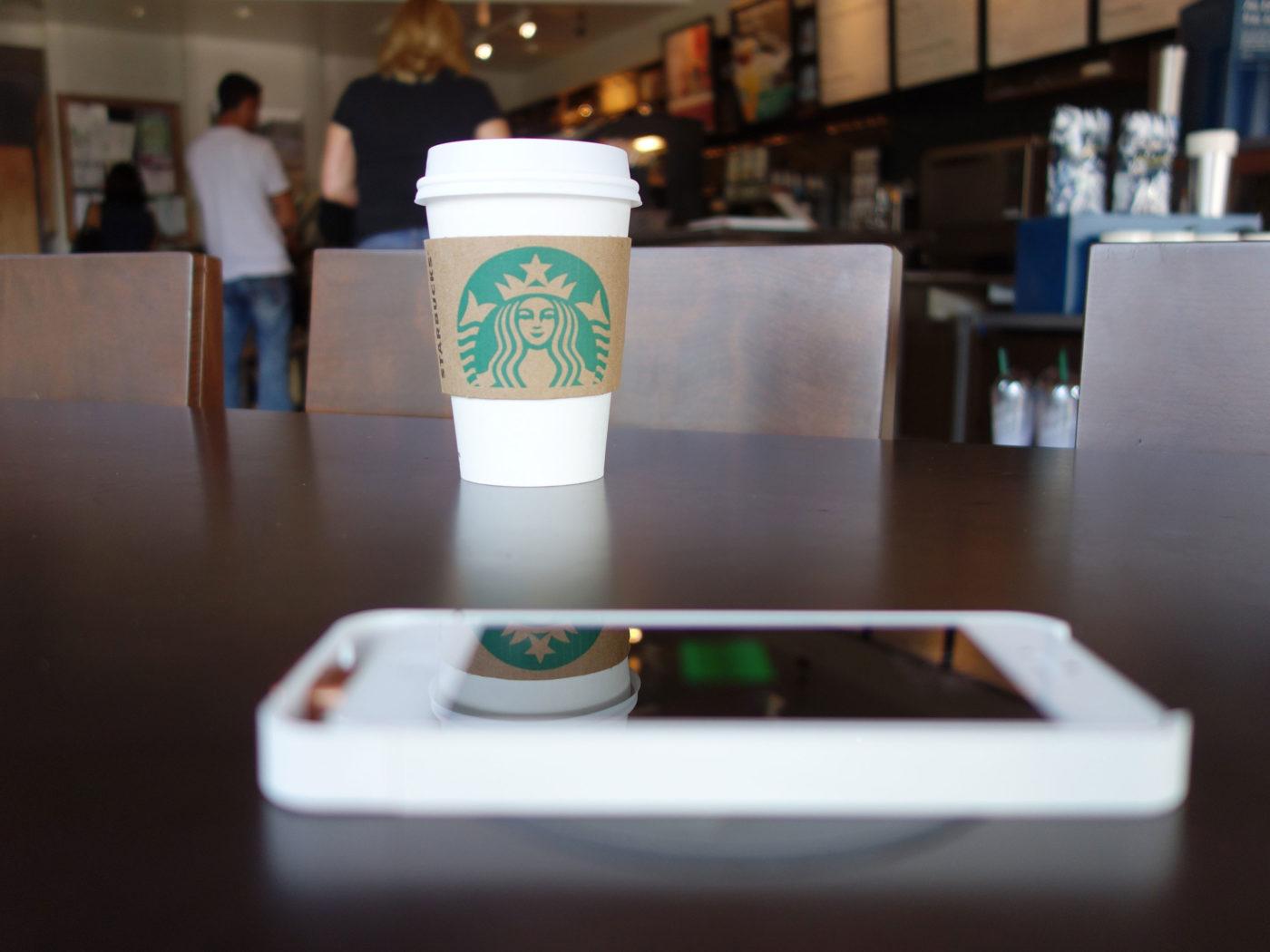 Starbucks hook up