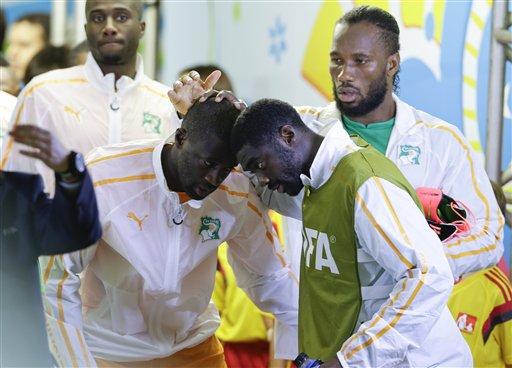 Brazil Soccer WCup Ivory Coast Japan