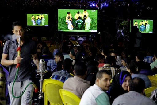 Mideast Wcup The Politics of Watching