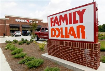 This Tuesday, Aug. 19, 2014 photo shows the Family Dollar store in Ridgeland, Miss. Family Dollar Stores Inc. Chairman and CEO Howard Levine said in a statement Thursday, Aug. 21, 2014, that its board and advisers reviewed Dollar General Corp.'s offer and determined it wasn't reasonably likely to be completed on the terms proposed. (AP Photo/Rogelio V. Solis)