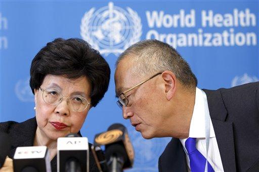 Margaret Chan, Keiji Fukuda
