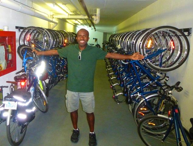 Toronto Bicycle Tours is run by Terrence Eta (Courtesy Photo)