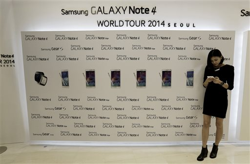CORRECTION South Korea Samsung Galaxy Note