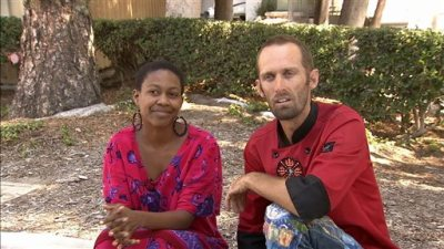 """Actress Daniele Watts and Brian Lucas speak during an interview with KABC-TV in Los Angeles, Sunday, Sept. 14, 2014. The Los Angeles Police Department said Sunday that officers detained Watts and her companion last week after a complaint that two people were """"involved in indecent exposure"""" in a silver Mercedes. Watts was detained until police determined no crime was committed. (AP Photo/KABC-TV)"""