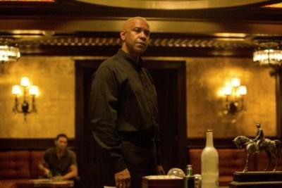 "Denzel Washington in the film ""The Equalizer"""