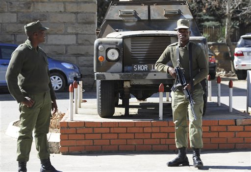 Lesotho Military Unrest