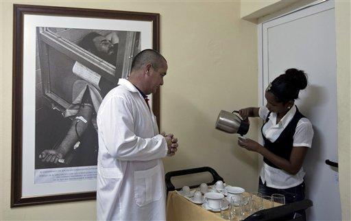 Cuba Ebola Doctors