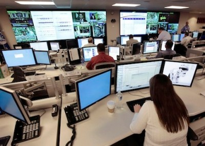 In this Sept. 24, 2010, file photo the National Cybersecurity & Communications Integration Center (NCCIC) prepares for the Cyber Storm III exercise at its operations center in Arlington, Va. (AP Photo/J. Scott Applewhite, File)