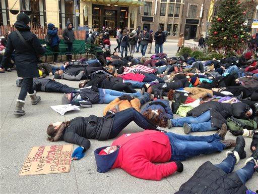 Chicago Ferguson Protests