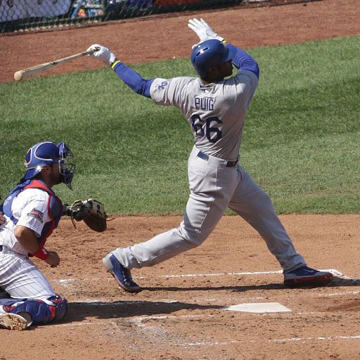 Los Angeles Dodgers outfielder, Yasiel Puig defected from Cuba in 2012. (TonytheTiger/Creative Commons)