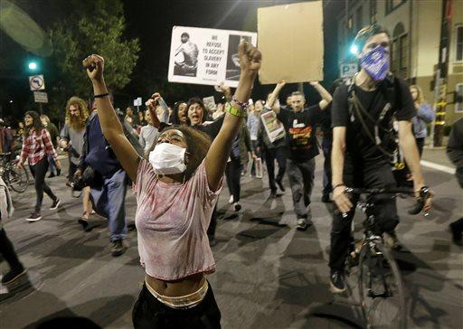 Police Protests California