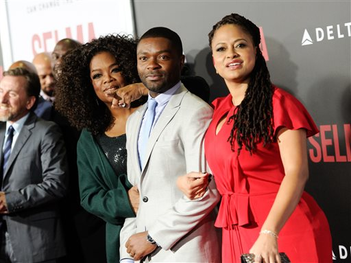 Oprah Winfrey, David Oyelowo, Carmen Ejogo