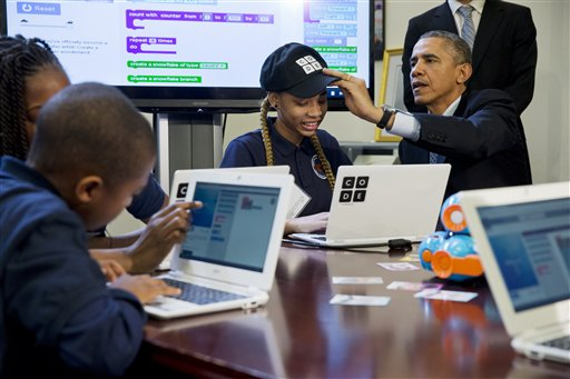 Barack Obama, Adrianna Mitchell