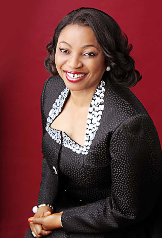 Folorunsho Alakija (Photo courtesy FolorunshoeAlakija.com)
