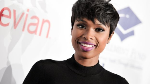 """In this Oct. 14, 2014 file photo, Jennifer Hudson arrives at The 20th Annual Fulfillment Fund Stars Benefit Gala in Beverly Hills, Calif. Hudson will debut on Broadway in the fall when the musical """"The Color Purple"""" returns. The Grammy, Oscar and Golden Globe winner will play Shug Avery, a sultry blues singer, in the production directed and designed by John Doyle, who received a director's Tony for his own Broadway debut, """"Sweeney Todd."""" (Photo by Richard Shotwell/Invision/AP, File)"""