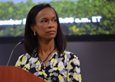 Valerie Wilson, the director of the Program on Race, Ethnicity, and the Economy (PREE) at Economic Policy Institute. (Freddie Allen/NNPA)