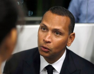 "In this Jan. 16, 2014, file photo, Alex Rodriguez speaks during a news conference in Cancun, Mexico. Alex Rodriguez has issued a handwritten apology ""for the mistakes that led to my suspension"" but has turned down New York's offer to use Yankee Stadium for a news conference and has failed to detail any specifics about his use of performance-enhancing drugs. (AP Photo/Israel Leal, File)"