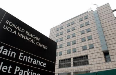 An exterior view of the Ronald Reagan UCLA Medical Center in Los Angeles. (Bob Riha, Jr./AP Photo)