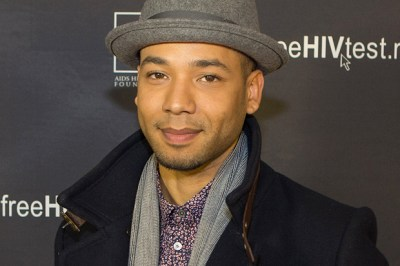 Jussie Smollett attends AHF's National Black AIDS/Awareness Day event at H.O.M.E. Beverly Hills, Saturday, Feb. 7, 2015 in Beverly Hills, Calif. (Jeff Lewis / AP Images for AIDS Healthcare Foundation)