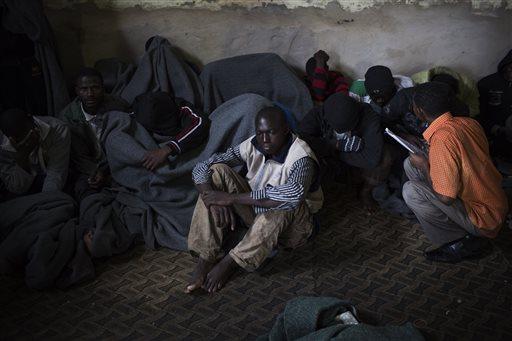 Mideast Libya Migrants