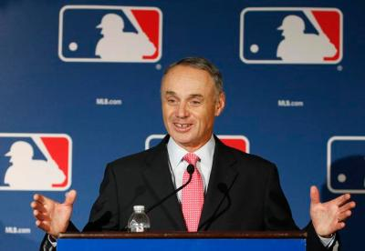 Major League Baseball commissioner Rob Manfred. (AP Photo/Ross D. Franklin)