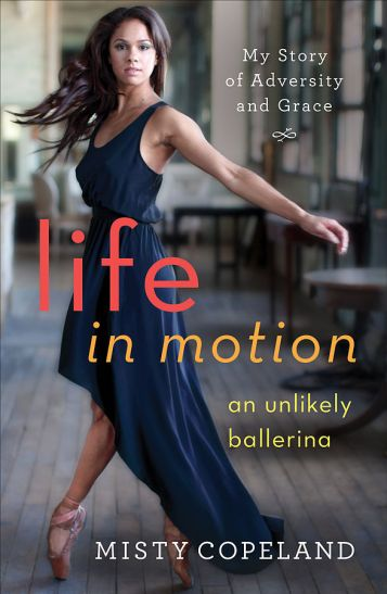 Misty Copeland's autobiography, Life in Motion. (Gilda N. Squire/CC BY SA-4.0)