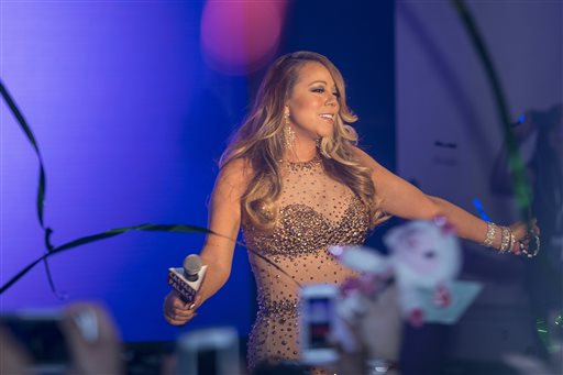 Mariah Carey's Official Welcome Event To Caesars Palace
