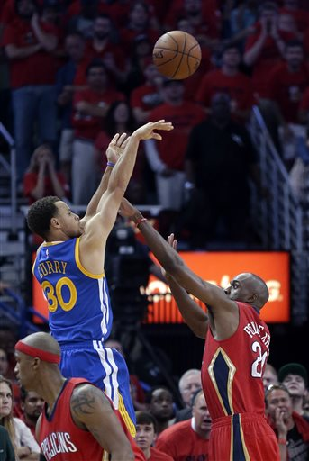 Stephen Curry, Quincy Pondexter