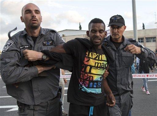 Mideast Israel Ethiopian Protest