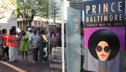 Prince Concert Baltimore